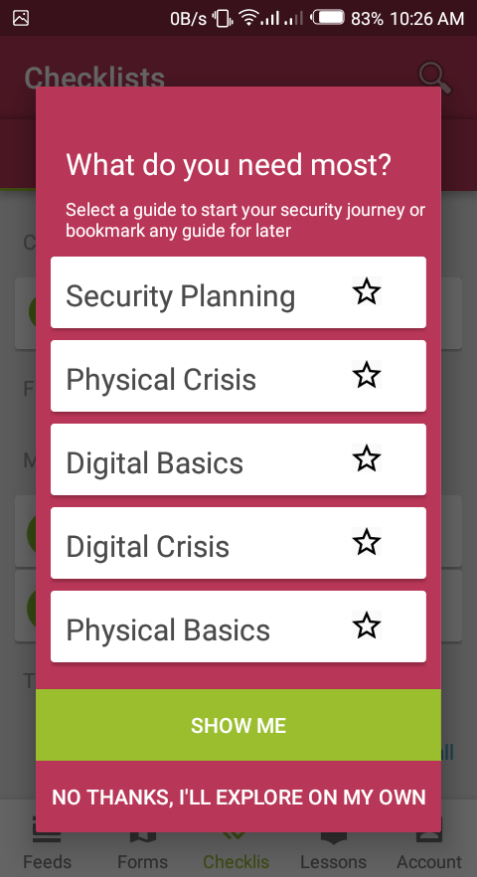 Select a guide to start your security journey or bookmark any guide for later